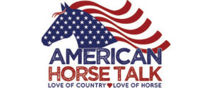American horse talk logo