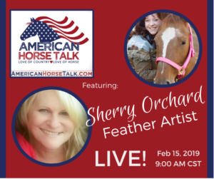 American Horse Talk LIVE:  Sherry Orchard @ American Horse Talk Facebook PAGE