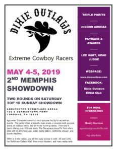 Dixie Outlaws EXCA Memphis Showdown @ Agricenter Showplace Arena