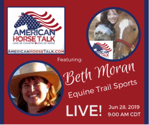 Equine Trail Sports - AmHT LIVE @ American Horse Talk Official Facebook PAGE